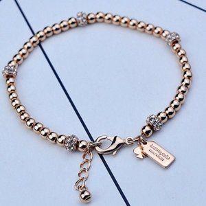 Kate Spade Zircon 18K Rose Gold Plated Bracelet